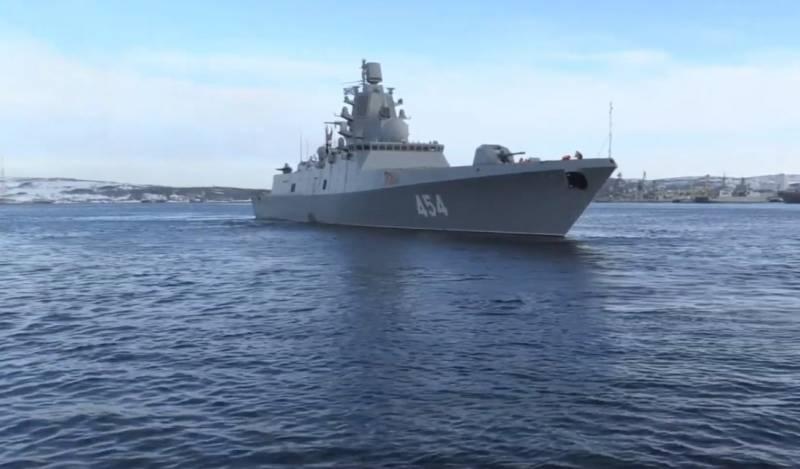 На Западе считают, что заход «Адмирала Горшкова» на Кубу вызовет гнев США