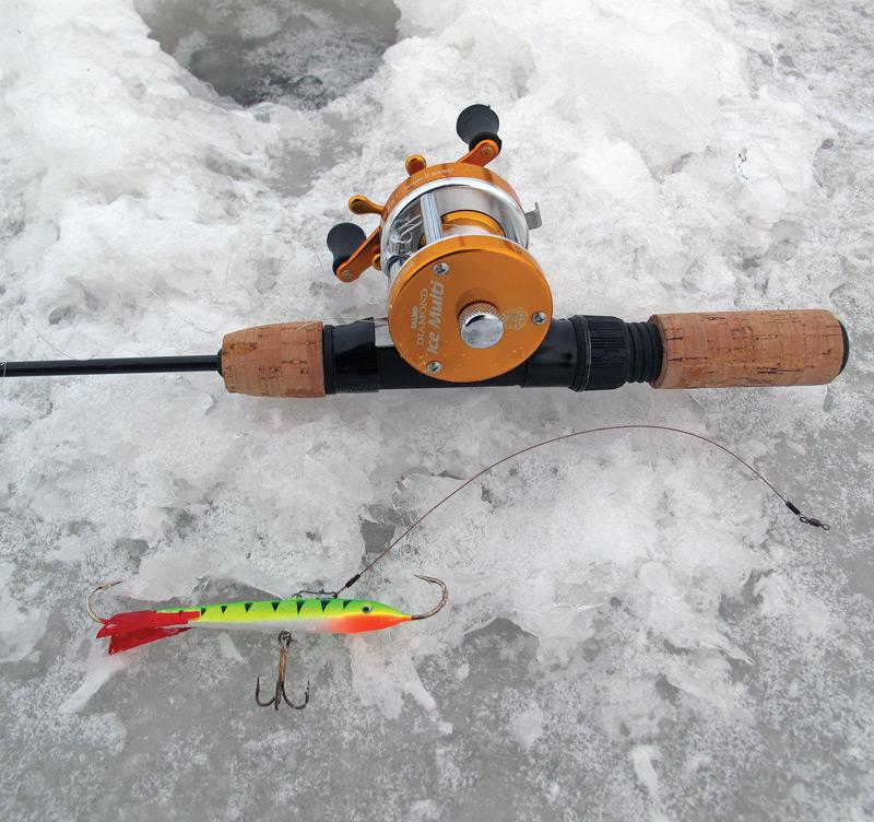 Зимняя удочка для ловли на балансир рейтинг