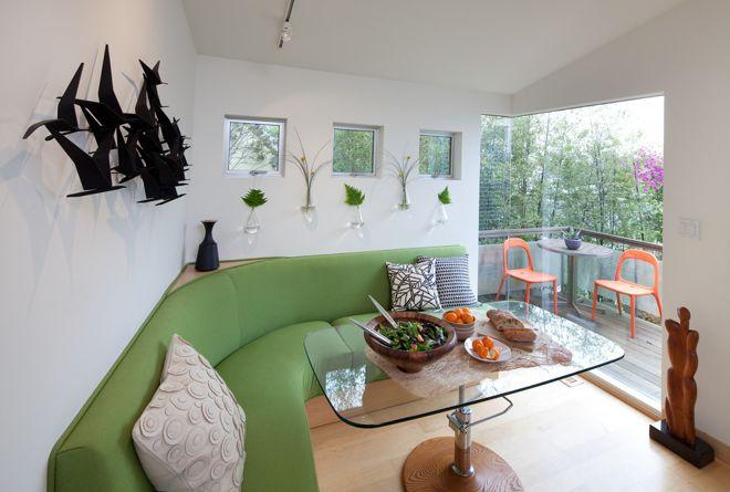 Современный Столовая by Kimball Starr Interior Design