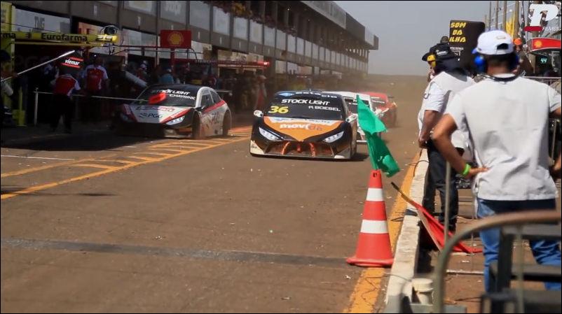 Происшествие на гонках в Бразилии