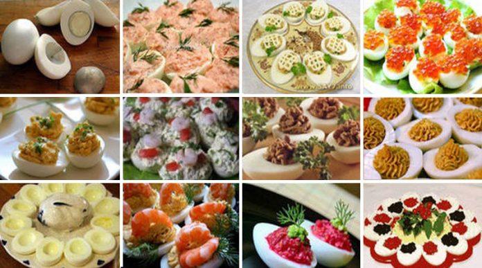 Фаршированные яйца. 26 самых изумительных вариантов начинок