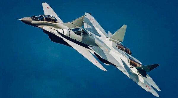 Российские истребители следующего поколения Су-57 и МиГ-35