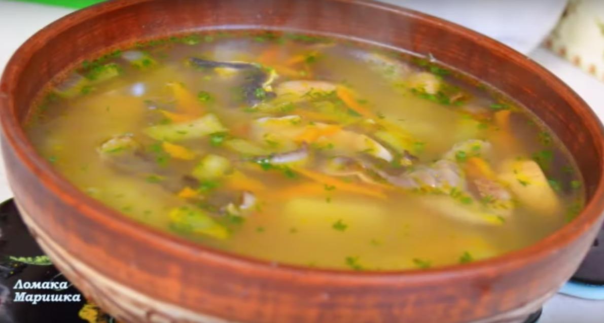 Невероятно вкусный грибной суп