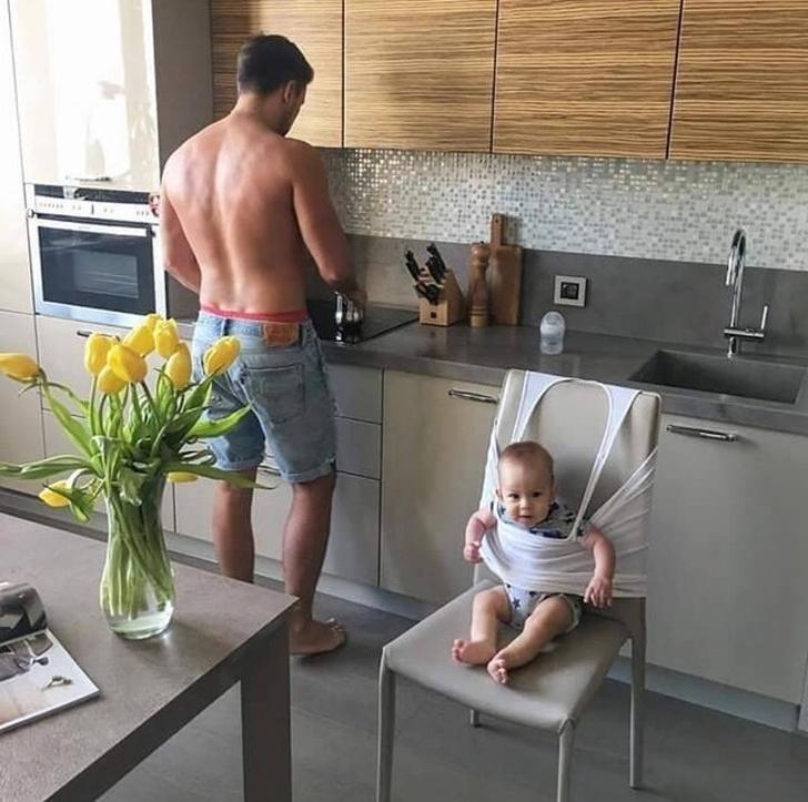 23фото, которые доказывают, что отцовской изобретательности нет предела