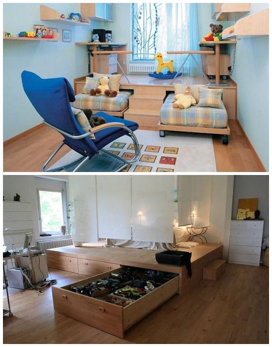 Комфорт на малых площадях, или Как идеально организовать пространство и правильно выбрать системы хранения интерьер и дизайн