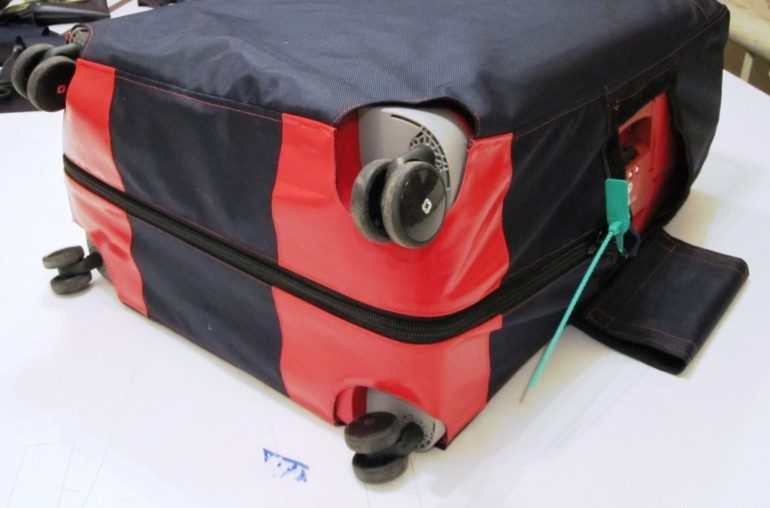 Защитный чехол на чемодан своими руками мастер-класс,шитье