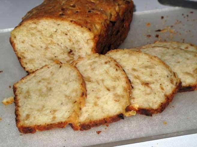 Луковый домашний хлеб