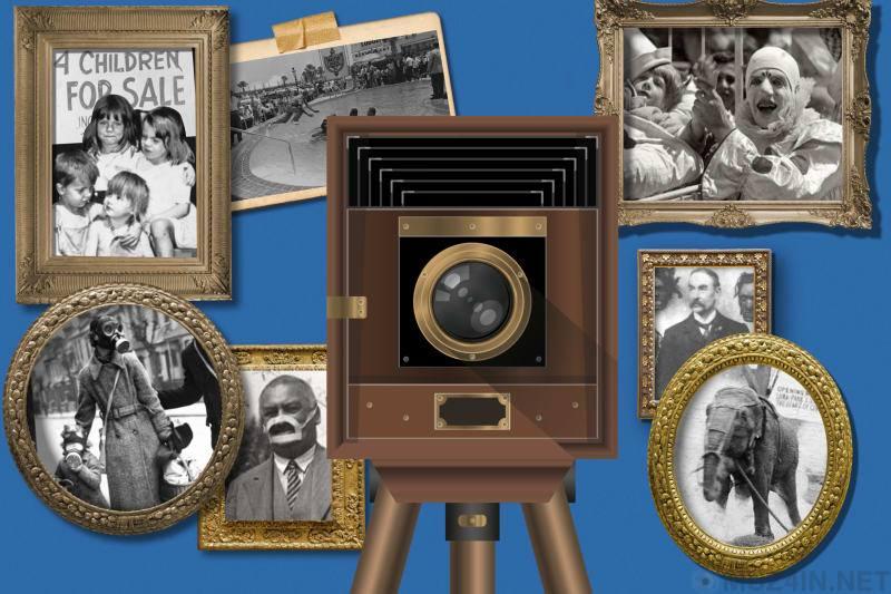 Восемь фотографий, которые заставят вас радоваться тому, что история является историей