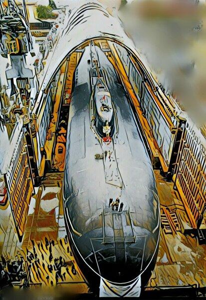 В РФ достраивают самую длинную субмарину в истории Земли.