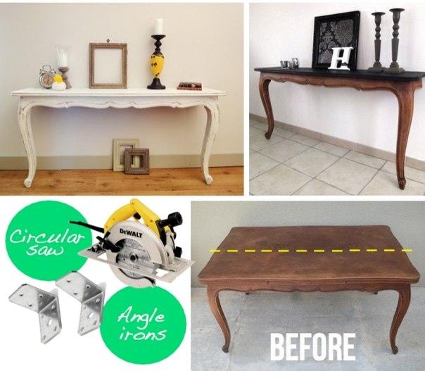 Идеи по переделке старой мебели