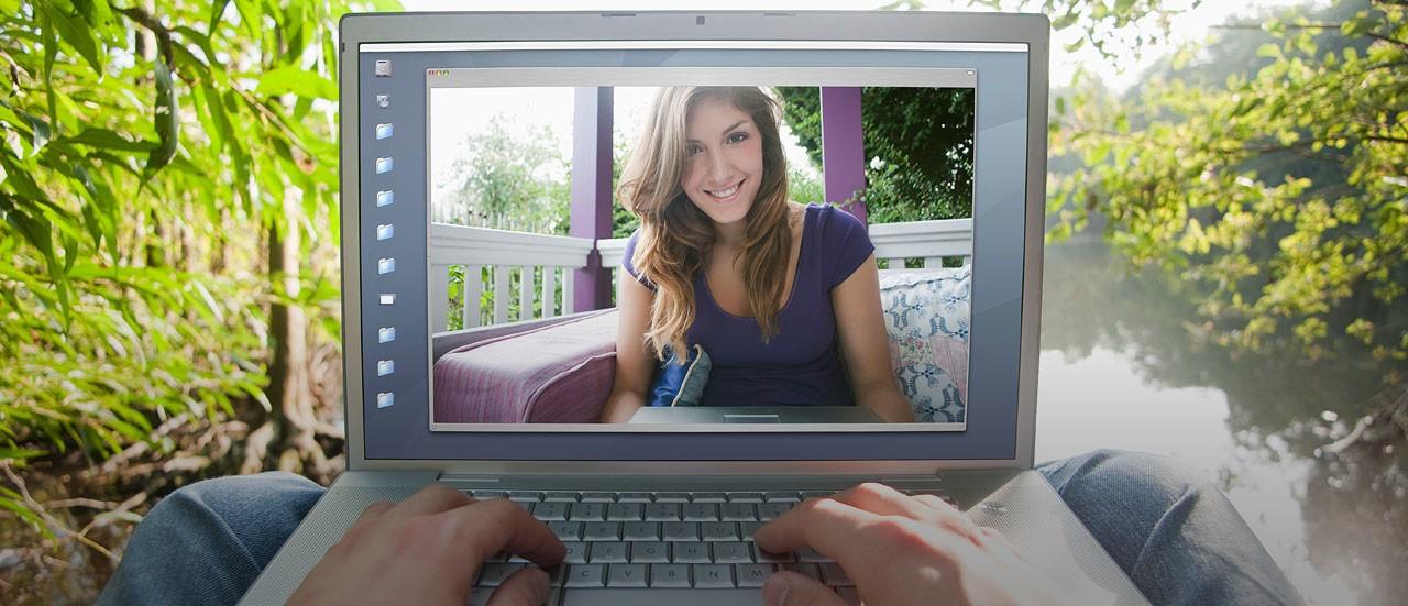 виртуальное общение с девушкой онлайн - 13