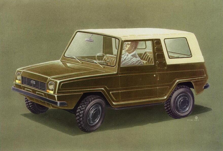 12 необычных автомобилей советского дизайнера Эрика Сабо
