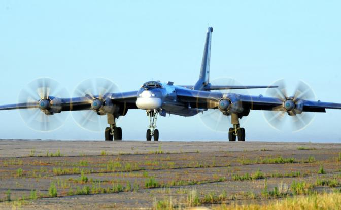 Старый русский «Медведь» нагнал ужас на НАТО