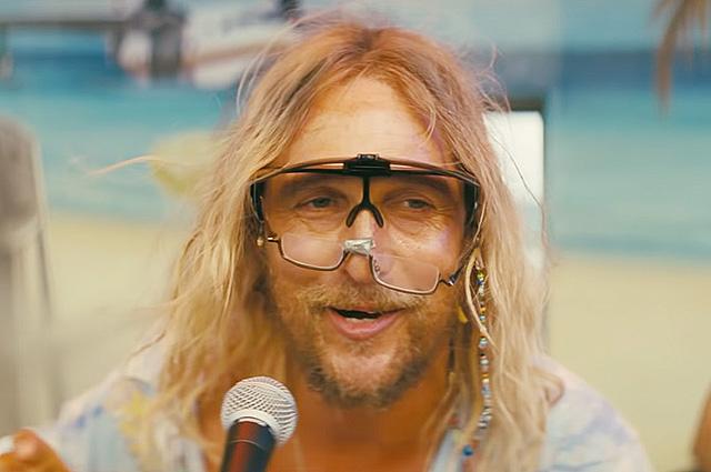 Мэттью Макконахи в образе отвязного поэта в трейлере фильма