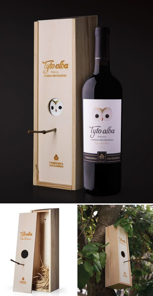 This Wooden Wine Case Can Be Turned Into A Birdhouse
