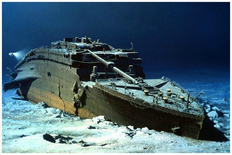 """Знаменитый """"Титаник"""" жизнь, затонувшие, под водой, страшно, техника, удивительно"""
