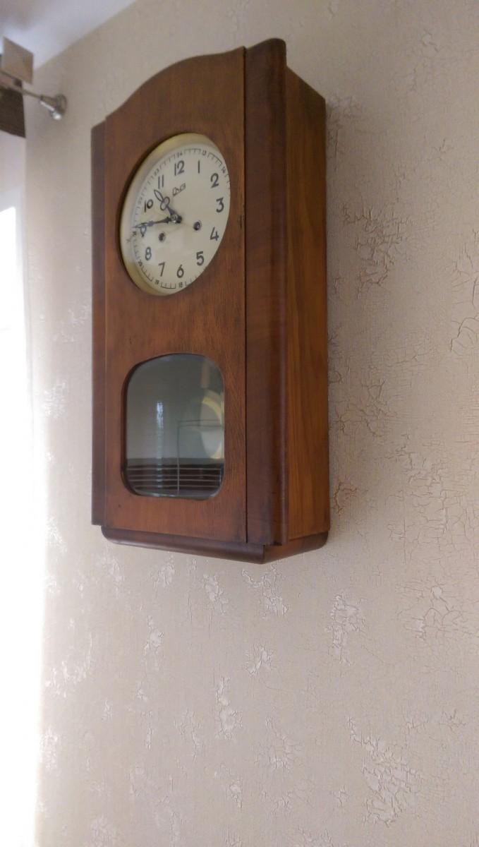 Аксессуары в интерьере, реставрация старых часов