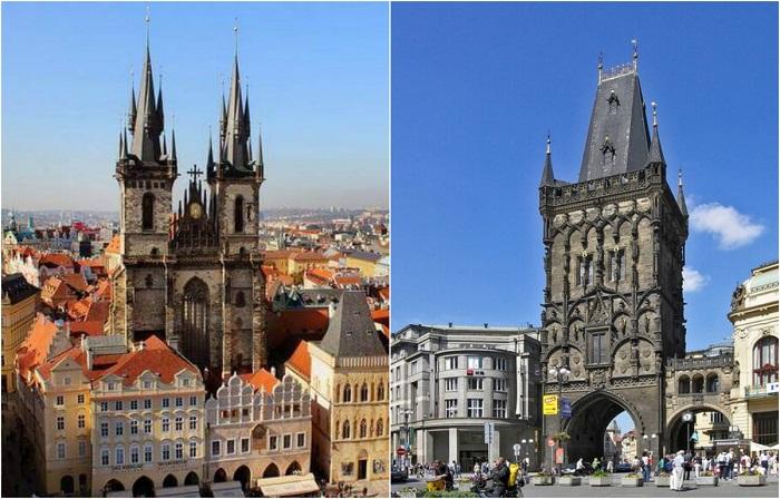 Уникальные достопримечательности чешской столицы.