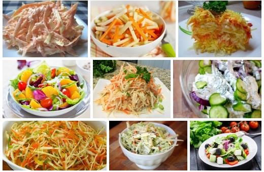 Топ-9 легких салатов, которы…