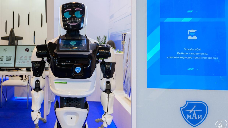 В Московском авиационном институте рассказали о помощи роботов для профориентации Общество