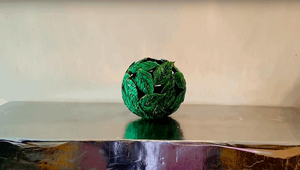 Изящная ажурная вазочка своими руками. Весенний мотив и простая техника интерьер,переделки,рукоделие,своими руками,сделай сам