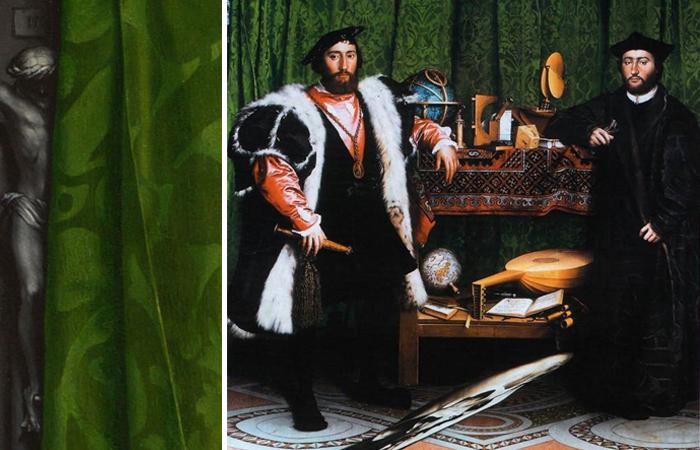 Загадки картины «Послы» Ганса Гольбейна