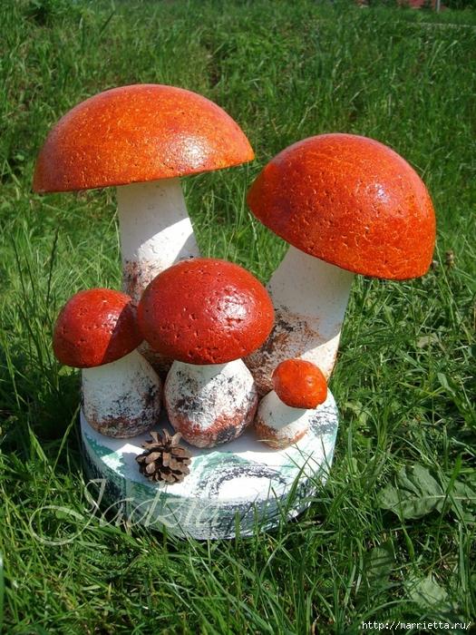 Поделки грибов Грибочки из счет своими руками