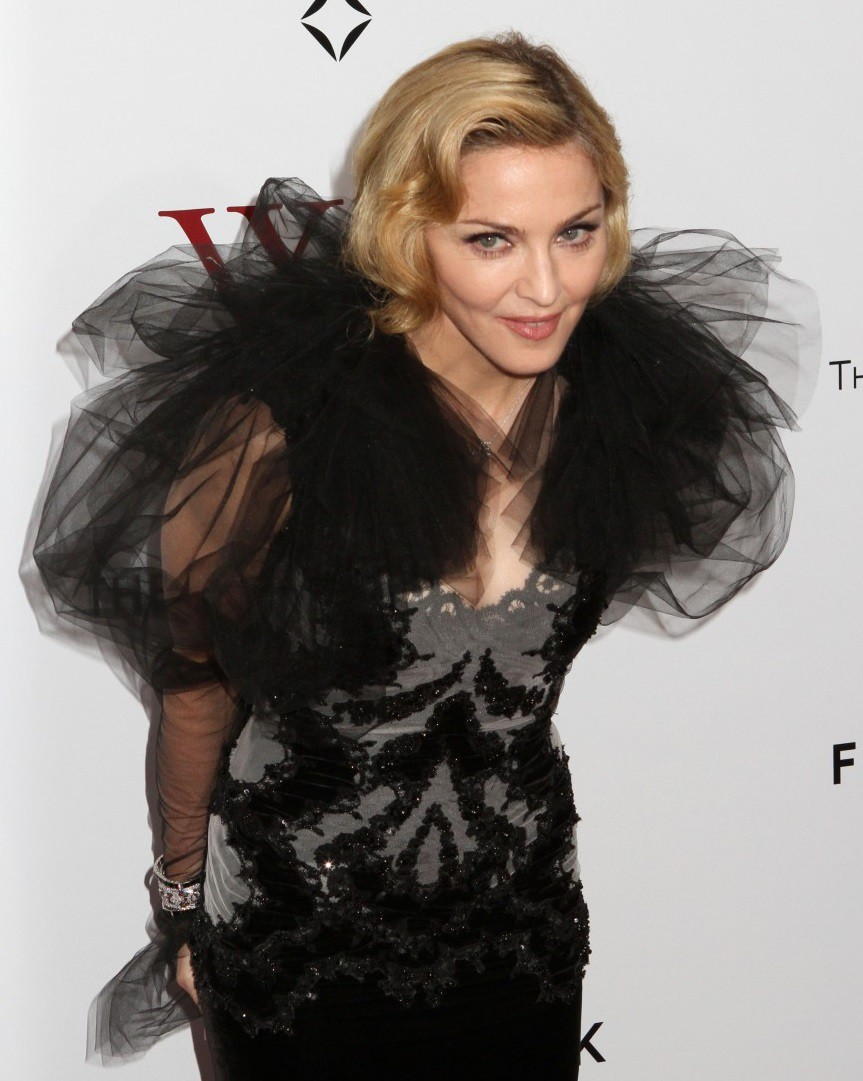 10. Мадонна - 140 знаменитость, интеллект