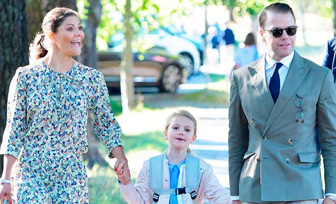 Принцесса Эстель поступила в первый класс самой элитной школы Стокгольма