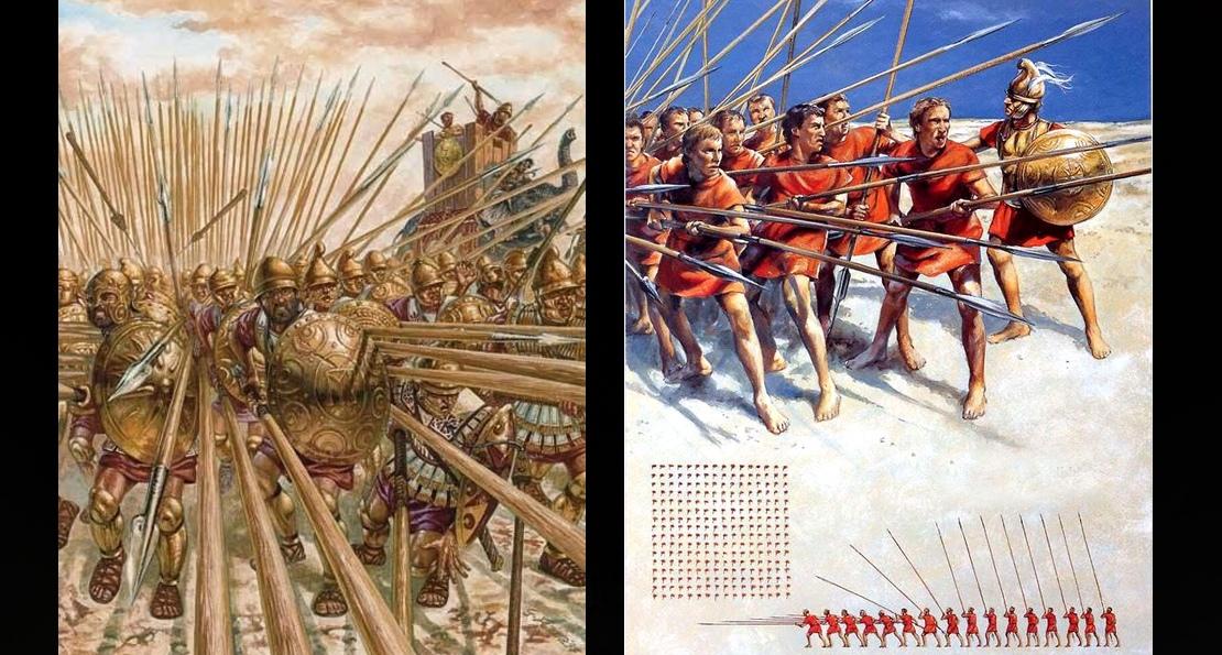 Фаланга против легиона. Почему наследники славы Александра Великого уступили победу римлянам? история