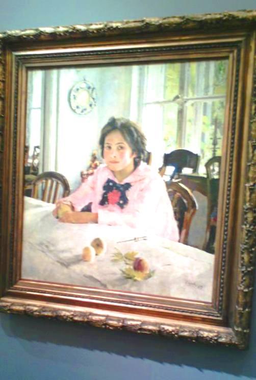 """""""Девочка с персиками"""" — немного о том, как писалась знаменитая картина и что стало с Верой"""