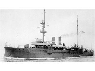 Как маленький русский корабль испугал огромную эскадру Германии вмф,история,подвиг