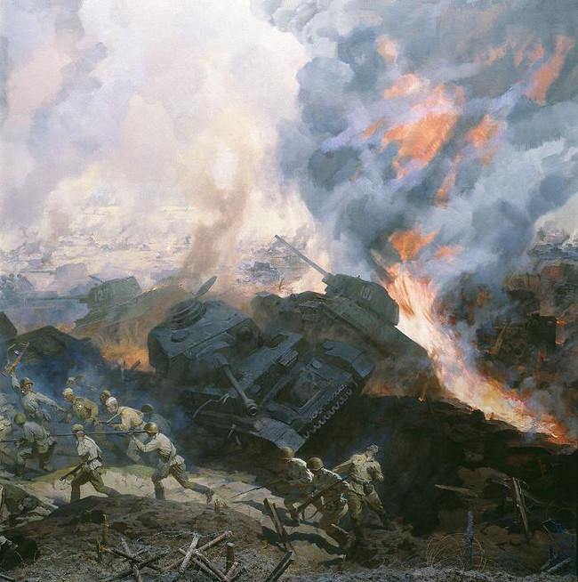 Великая Отечественная в живописи прошлого и настоящего: каноны, «табу», скрытые смыслы