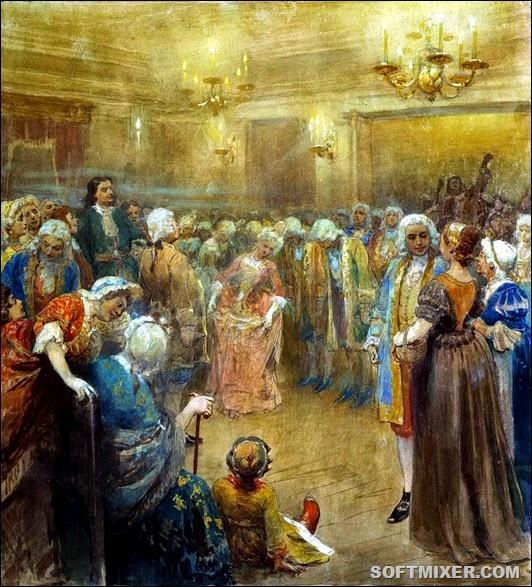 Первые балы в России