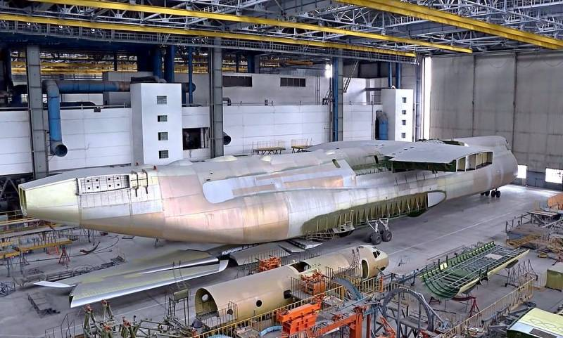 Турция может помочь Украине достроить второй Ан-225 «Мрия» Техно