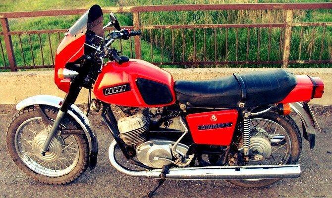 Мотоциклы на которых мы катались в молодости Мото