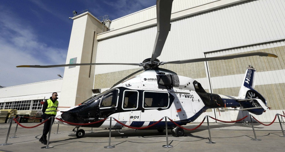 Иран планирует закупить у концерна Airbus 48 гражданских вертолетов