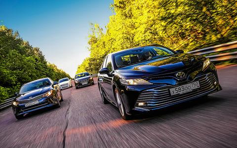 Новая Toyota Camry против конкурентов - сравнительный тест