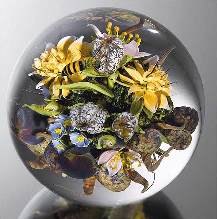 Сохранить красоту мира  — безупречные композиции в стекле работы Пола Стэнкарда