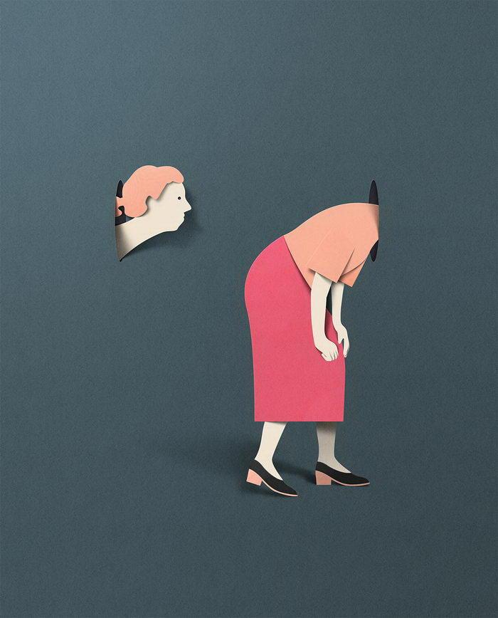 Лаконичные иллюстрации Eiko Ojala