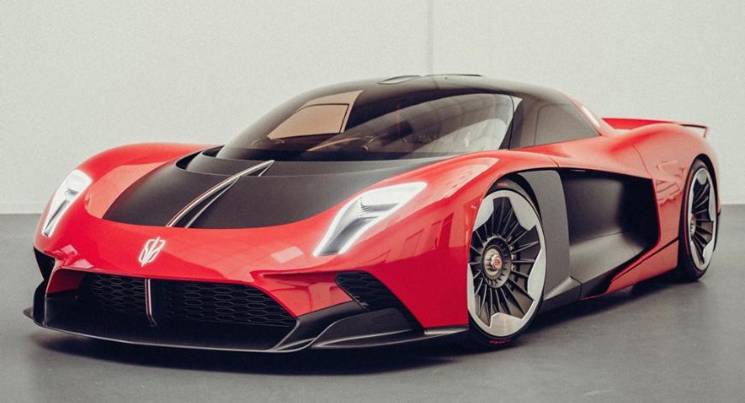 Марка Hongqi показала в Шанхае самый дорогой суперкар в истории Китая Автомобили