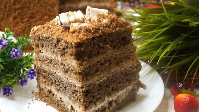 Торт 3 кг за 50 минут вместе…