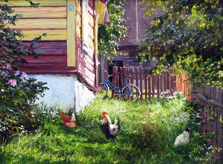Художник Татьяна Черных. Будет сниться зимой это лето живопись