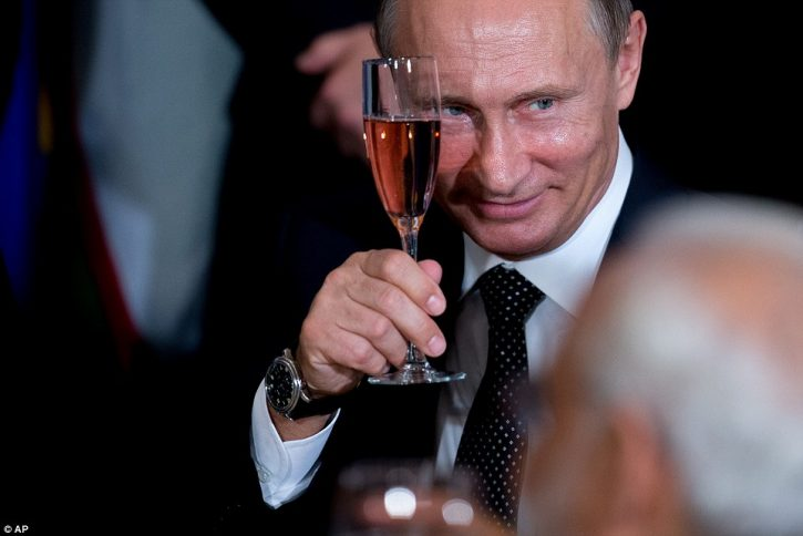 Путин выпил самого дешевого вина