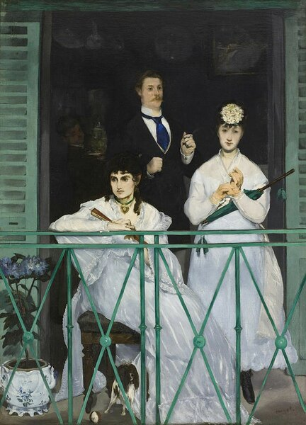 Балкон. Эдуар Мане, 1869,