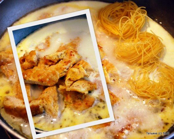 Куриные отбивные в сметанном соусе. Фото-рецепт.
