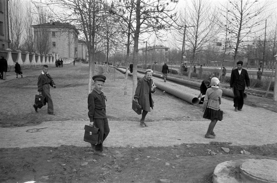 Москва в 1958 году