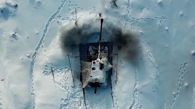 Минобороны показало зрелищные кадры стрельбы снарядами «Краснополь» из «Мста-С»
