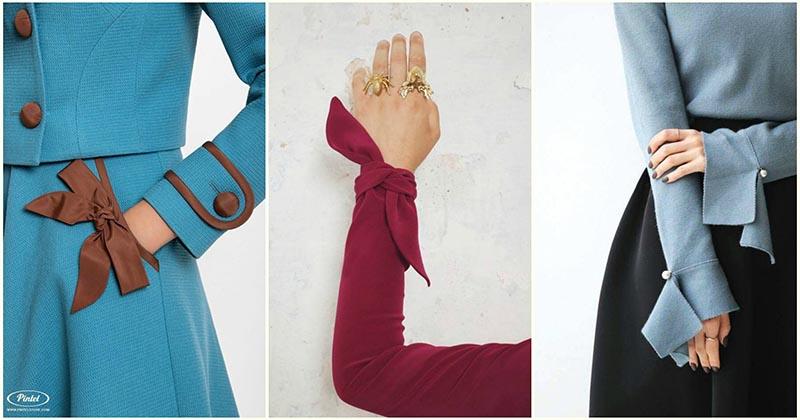 28 изумительных идей оформления манжета и рукавов