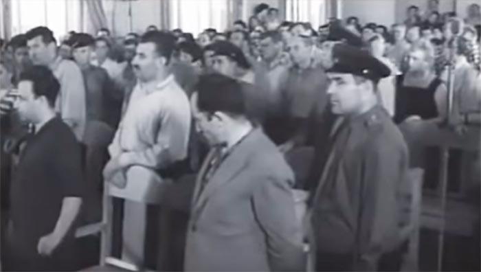 Ян Рокотов и его подельники на суде